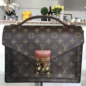 LOUIS VUITTON MONCEAU Monogram Bag MINT Condition